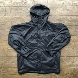 Black Columbia Omni-Tech Rain Jacket